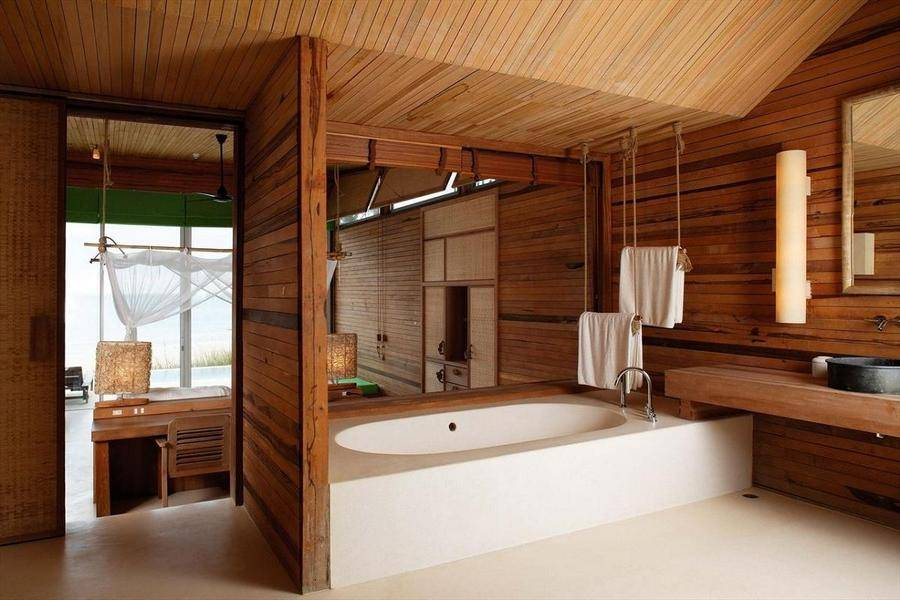 Ванная комната в деревянном доме (42 фото): как сделать ремонт, правильное устройство и обустройство