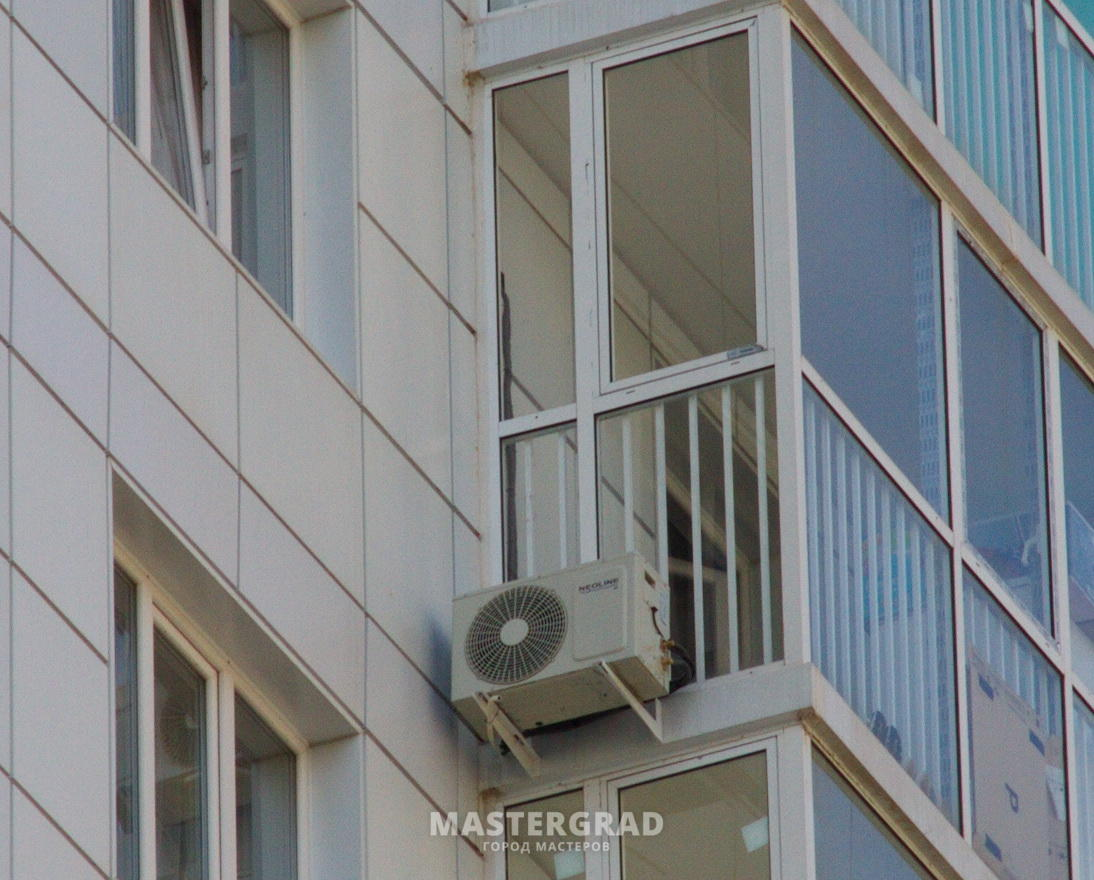 Кондиционер на балконе: особенности установки
