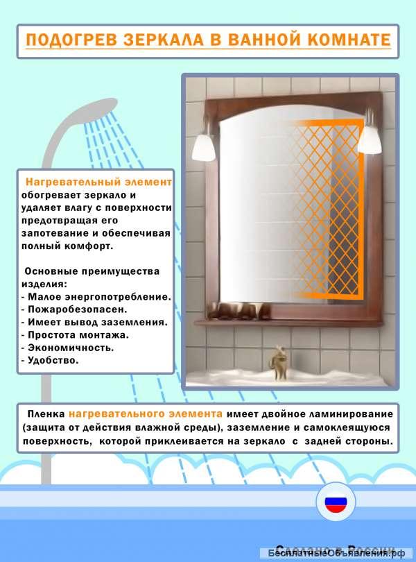 6 хитростей, которые помогут не запотевать зеркалу в ванной