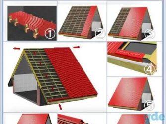 Минимальный уклон кровли из профлиста: строим крышу с минимальным углом