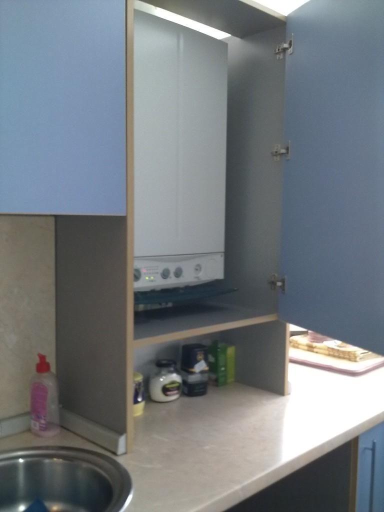 Как задекорировать газовый котел на кухне — идеи дизайна