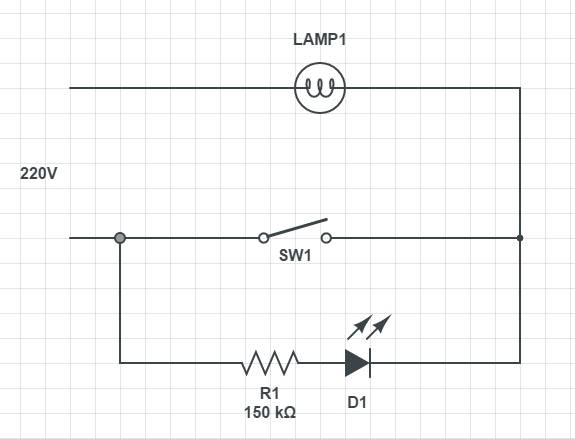 Выключатель с подсветкой: установка, подключение, схема