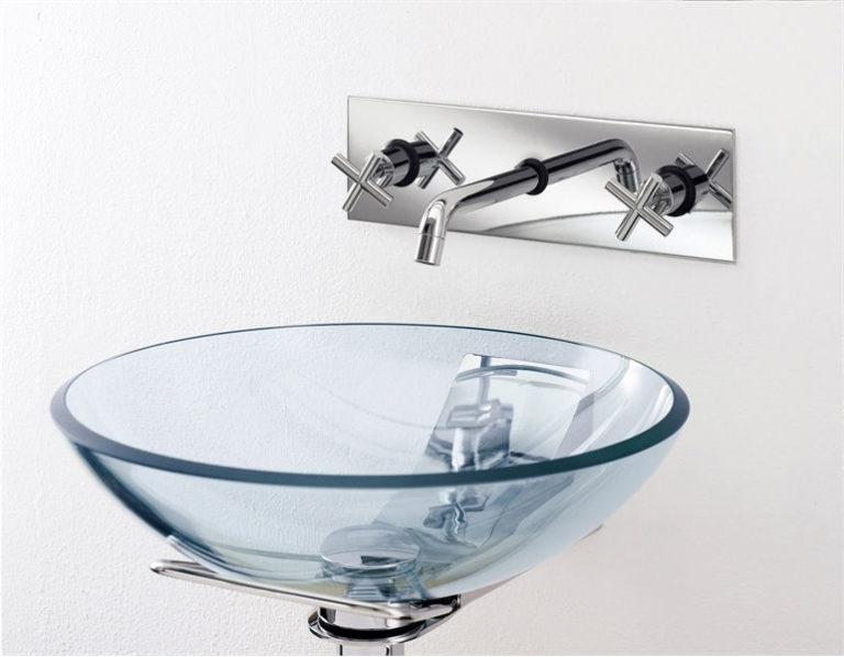 Какие бывают стеклянные раковины для ванной