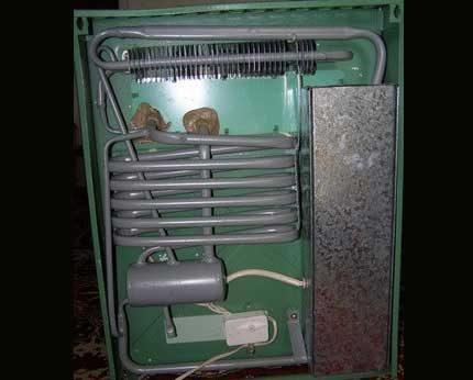 Абсорбционный холодильник на газу: принцип работы, расход газа