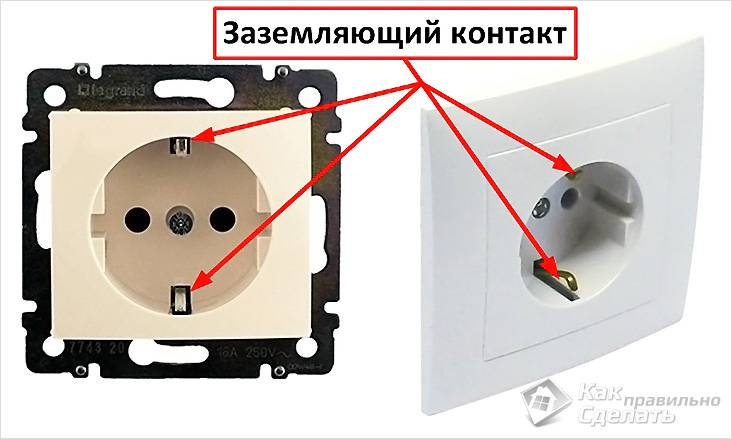 Как подключить розетку: схема правильного подключения провода к аварийному выключателю, монтаж своими руками двойного устройства с заземлением