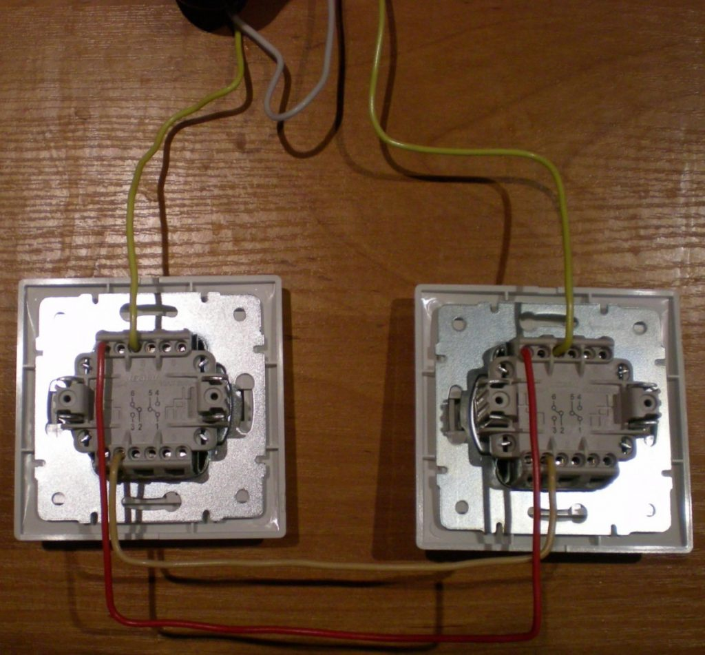 Выключатель с подсветкой – схема подключения и монтаж