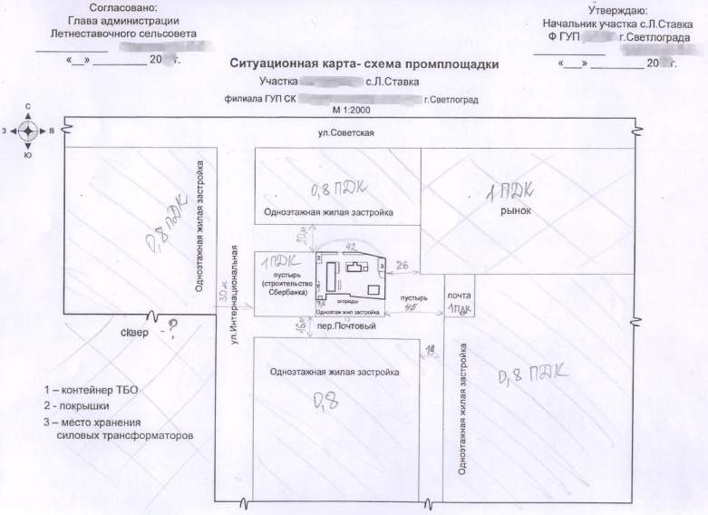 Где получить ситуационный план для газификации