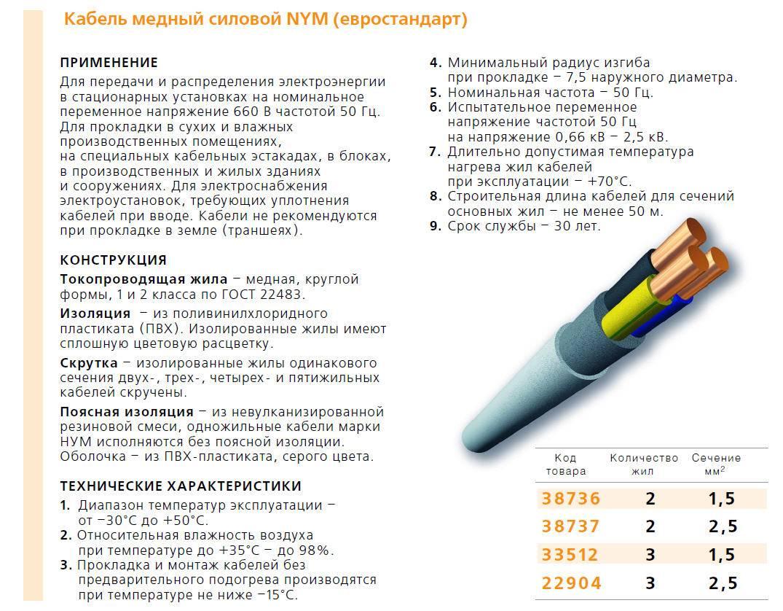 Медный многожильный кабель ввг: аббревиатура, маркировка и виды, технические характеристики и критерии выбора