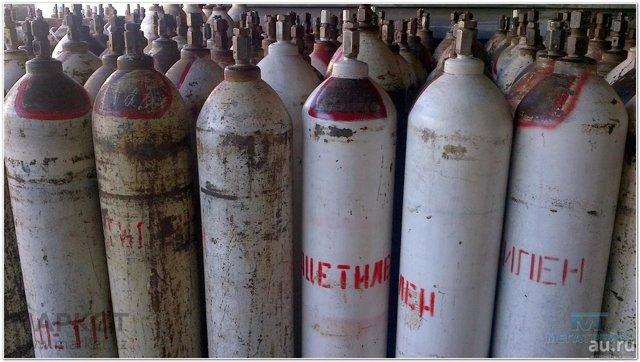 Характеристики типовых 50 литровых газовых баллонов: вес, размеры, сколько кубов газа вмещает