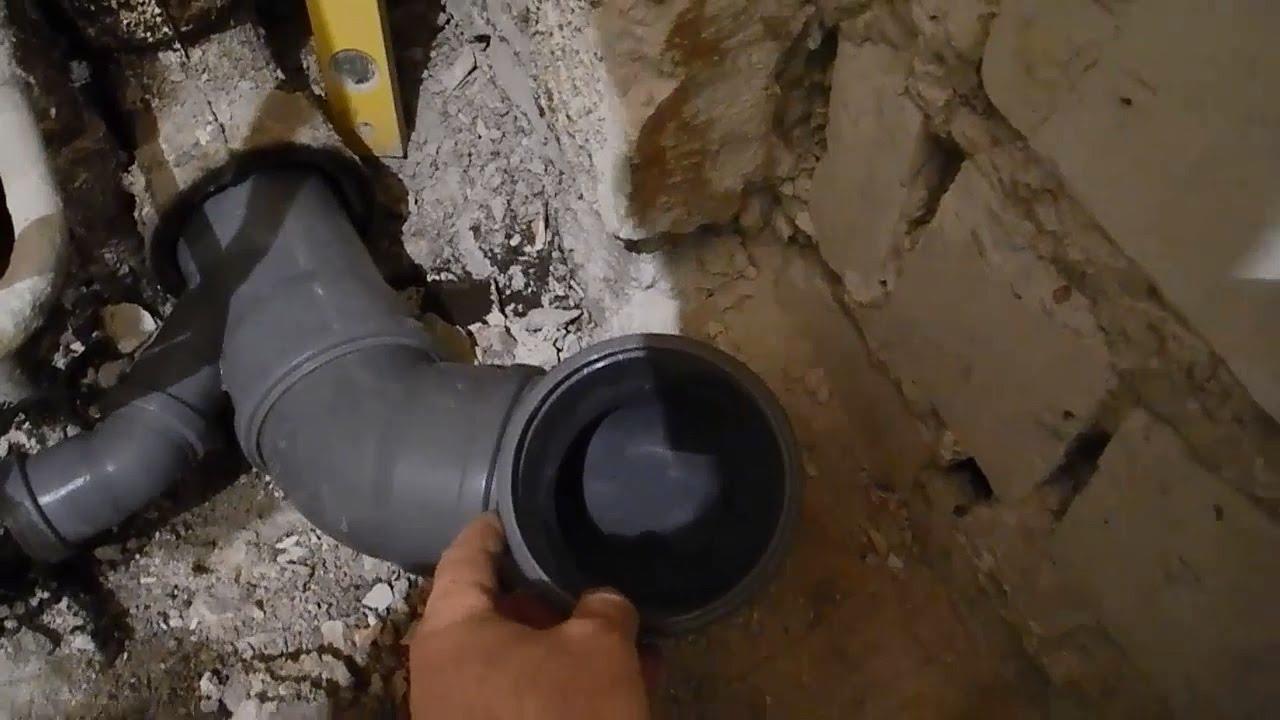 Замена чугунных труб на пластиковые, демонтаж чугунных труб