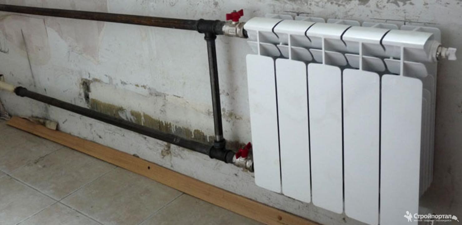 Замена радиаторов отопления в отопительный сезон — необходимые документы и порядок работы. особенности отключения стояка отопления