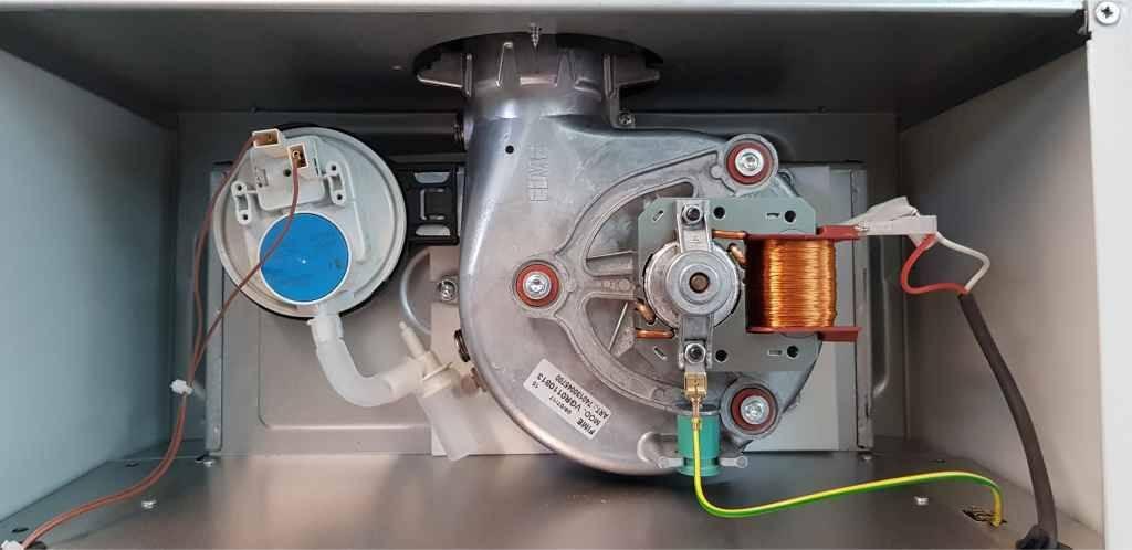 Диагностика и ремонт вентилятора газового котла