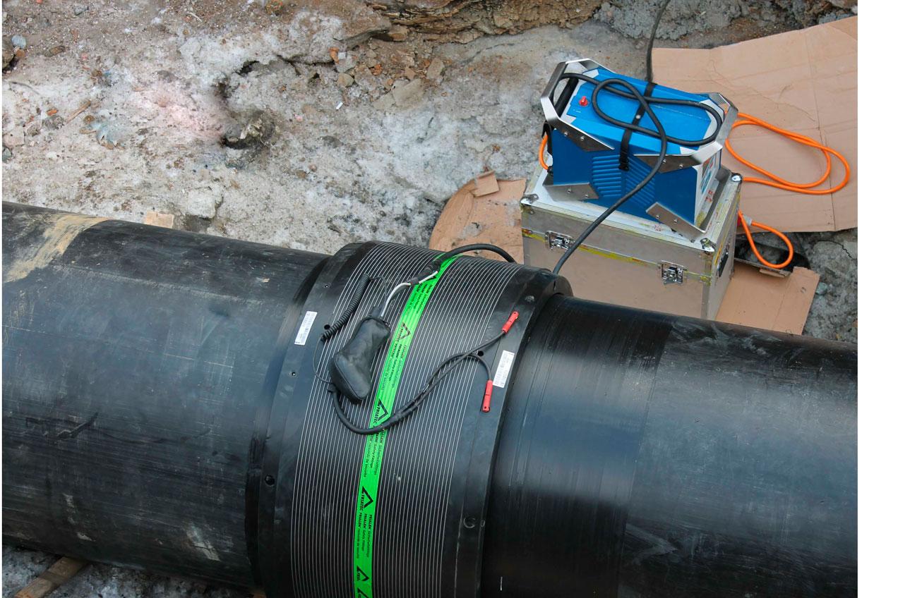 Сварка пнд труб - стыковая и электромуфтовая, технология соединения и оборудование