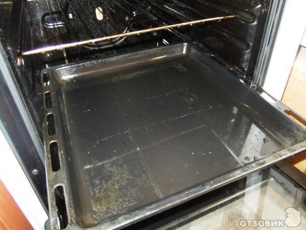 Неправильно используешь ящик под плитой, это не полочка для сковородок