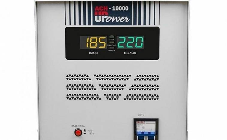 Какой стабилизатор напряжения 220в для дачи выбрать: виды, обзор лучших производителей + как подобрать