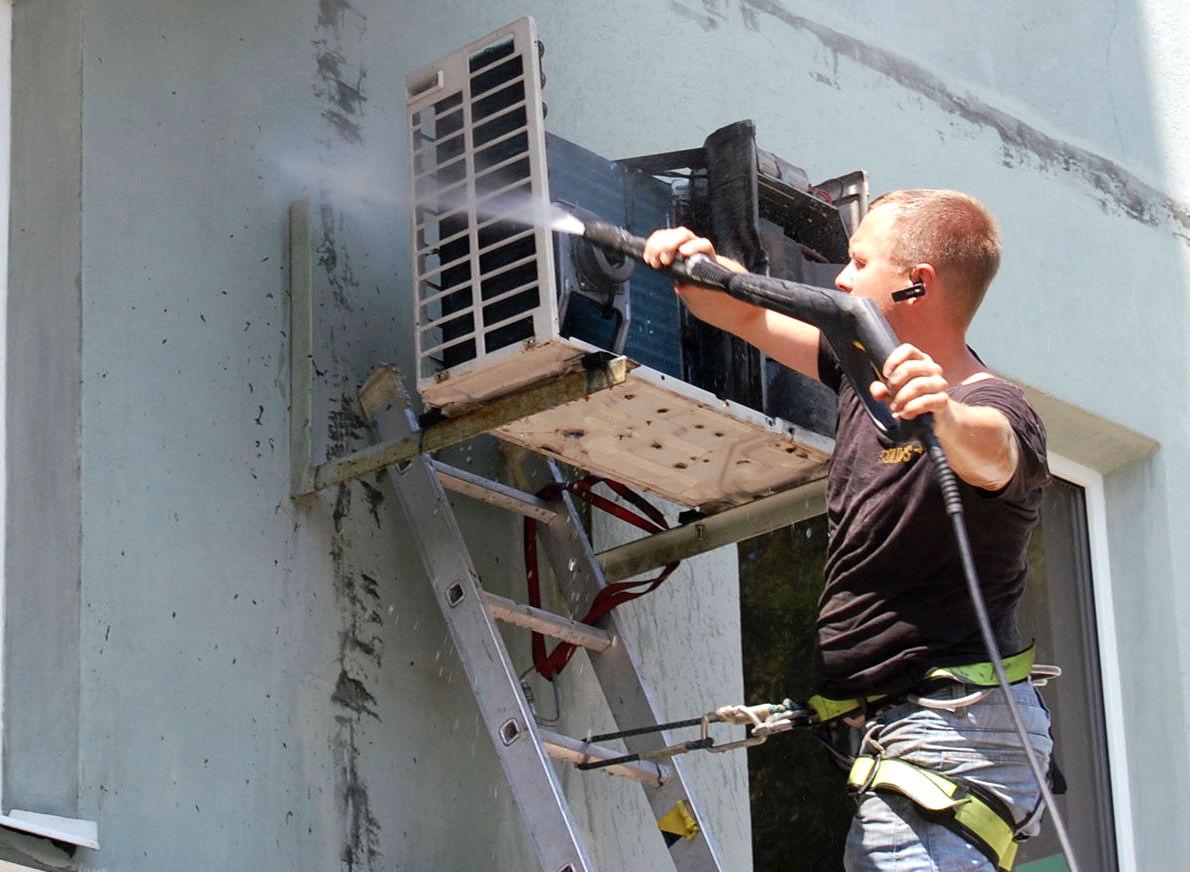 Как почистить кондиционер дома самостоятельно — 7 советов   строительный блог вити петрова