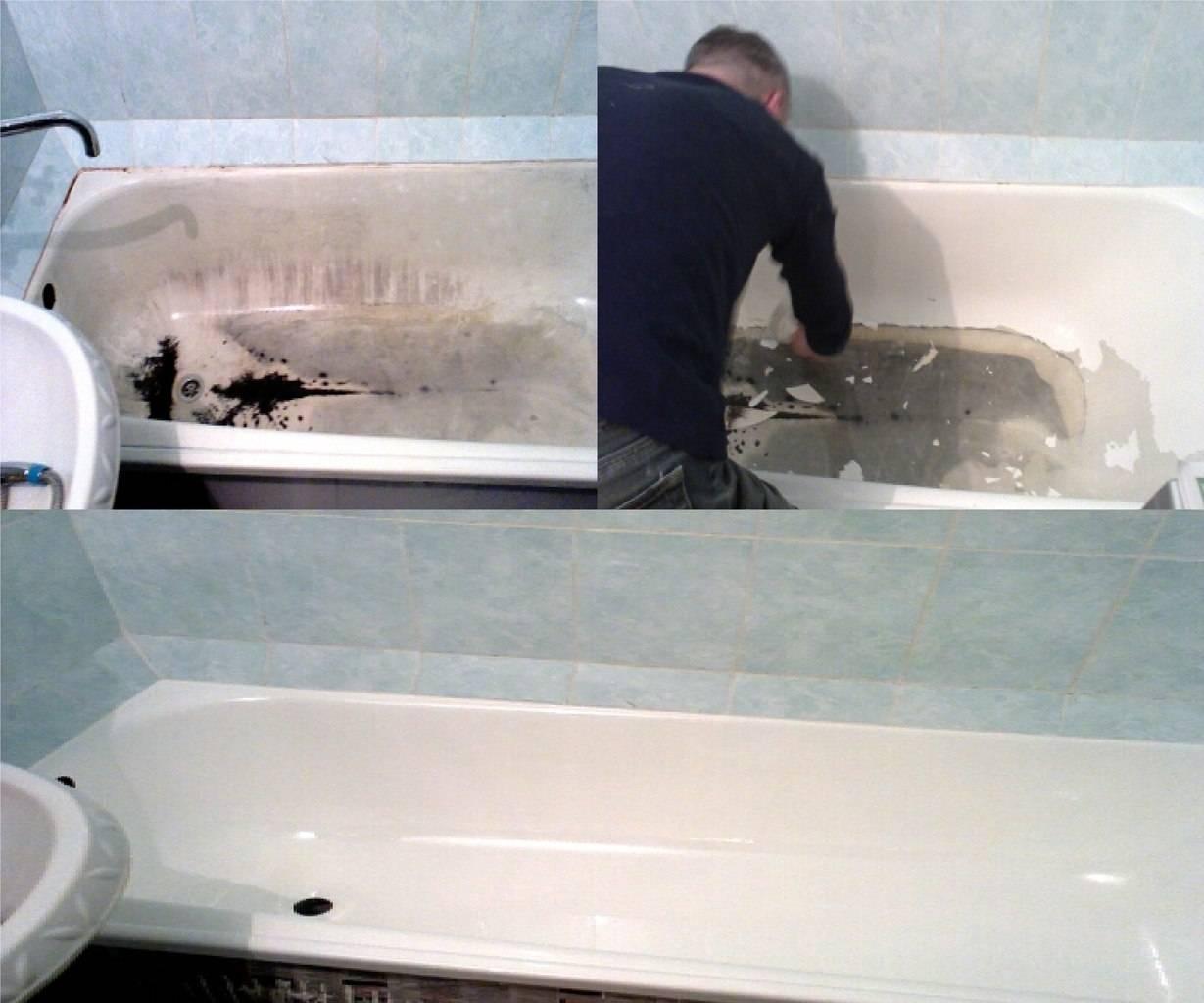 Как отреставрировать ванну своими руками