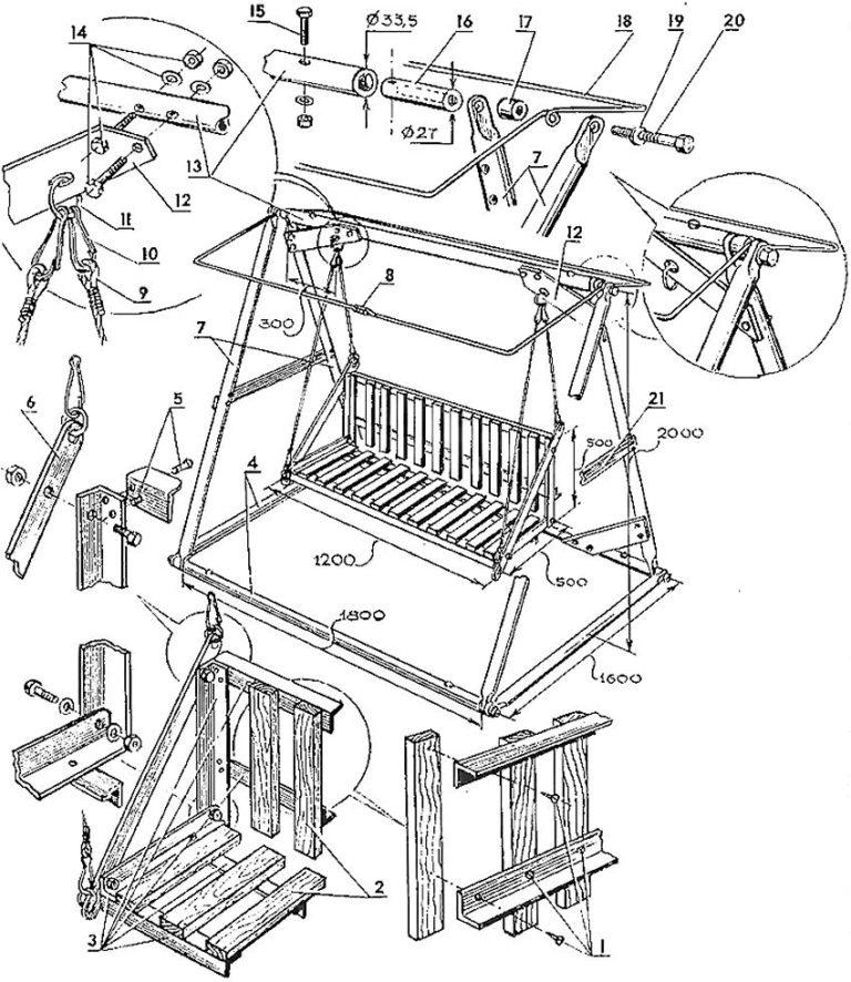 Как сделать качели на даче своими руками из металла: фото, чертежи как сделать качели на даче своими руками из металла: фото, чертежи