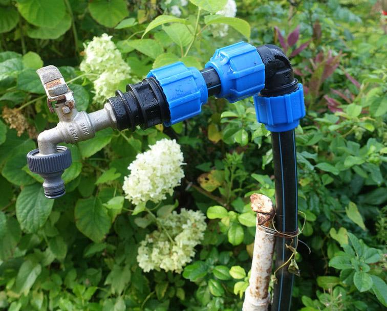Трубы для полива на даче: сравнительный обзор + какие лучше использовать для обустройства полива огорода