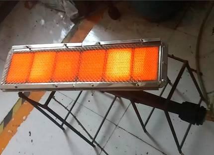 Инфракрасная газовая горелка: керамические горелки ик-излучения с регулировкой в котел отопления, другие модели, расход газа