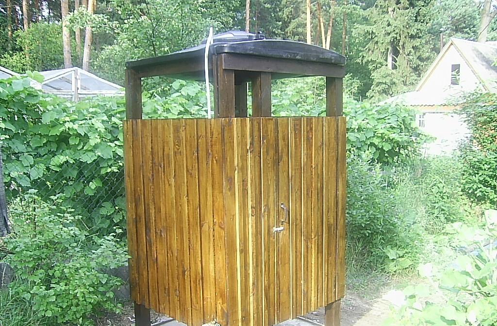Как сделать летний душ своими руками: виды, описание и строительство душевой кабины на даче