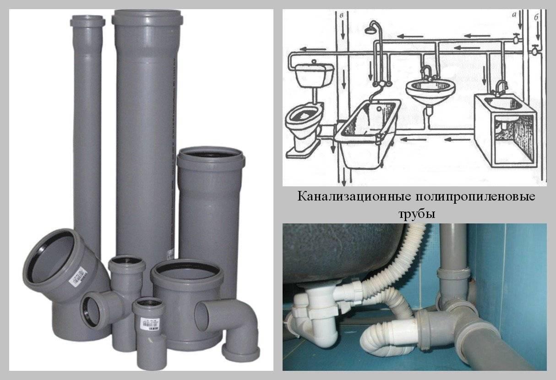 Какие трубы лучше использовать для устройства внутренней канализации — чугун или пластик?
