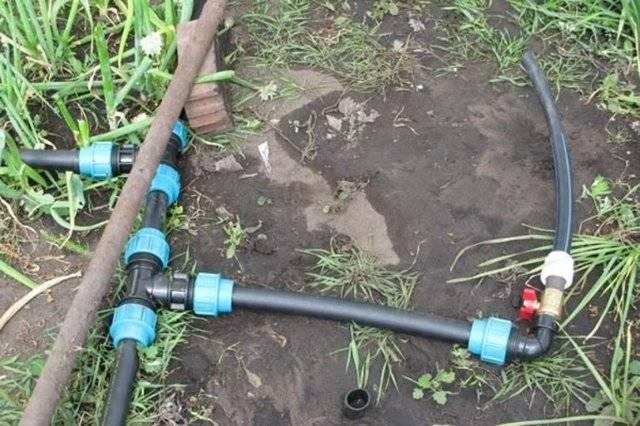 Как сделать летний и зимний водопровод на даче