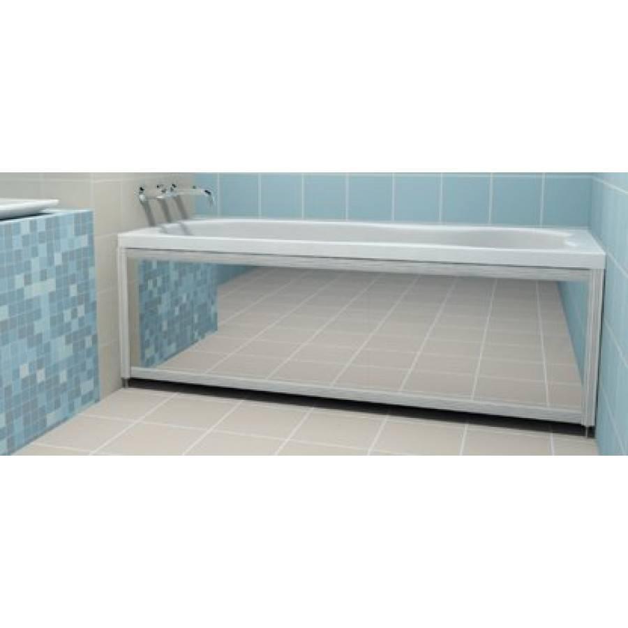 Как произвести установку экрана на акриловую ванну?