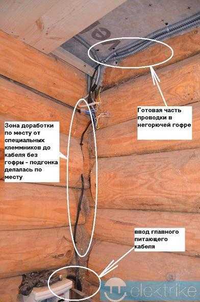 Кабель для освещения квартиры и частного дома: сечение