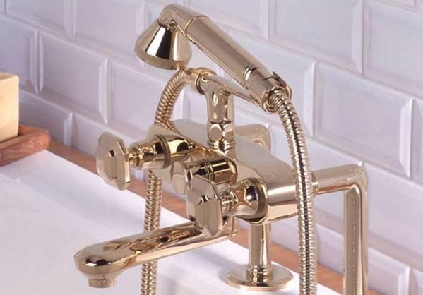 Выбираем смеситель для ванной: разновидности смесителей для ванной и их особенности