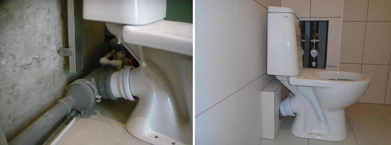 Правила соединения унитаза с канализацией из пластиковых труб