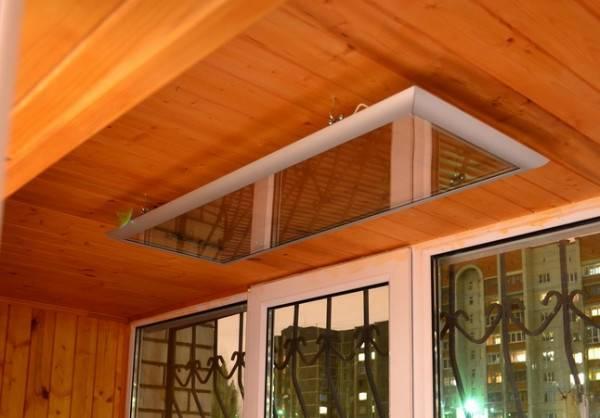 Как выбрать потолочный инфракрасный обогреватель?
