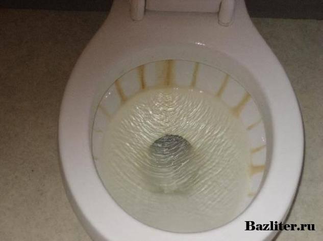 Средство для чистки унитаза - чем удалить налет в унитазе? быстро очистить унитаз от камня и налета