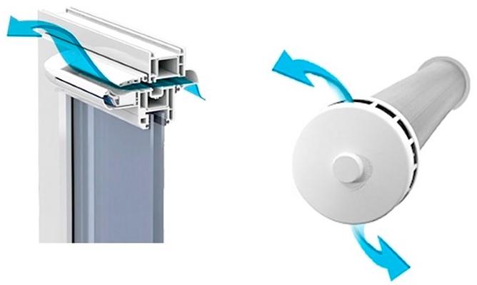 Как выбрать и установить приточный клапан на пластиковые окна своими руками