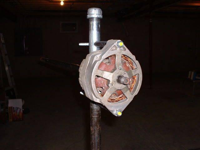 Ветрогенератор из автомобильного генератора своими руками: все тонкости переделки, практические советы и видео-инструкция
