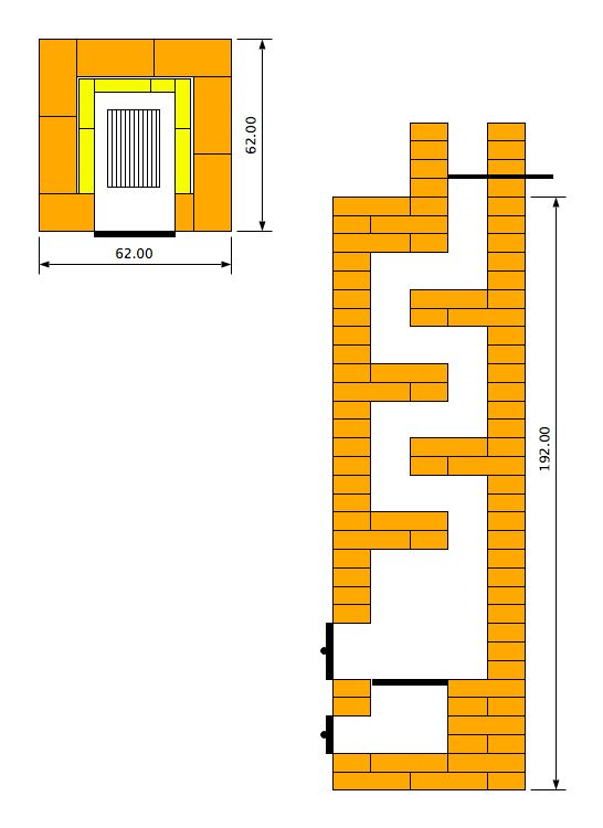 Голландская печь: разновидности конструкций и рекомендации по кладке