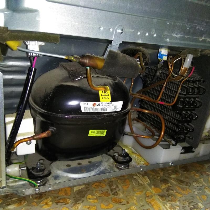 Замена мотора-компрессора в холодильнике – последовательность действий