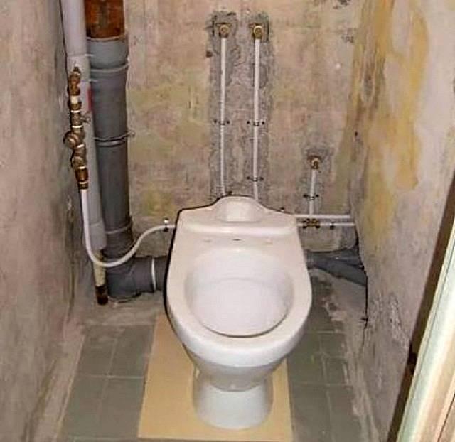 Замена канализационных труб в квартире своими руками