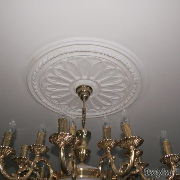 Потолочная розетка под люстру: монтаж розетки на потолок - точка j