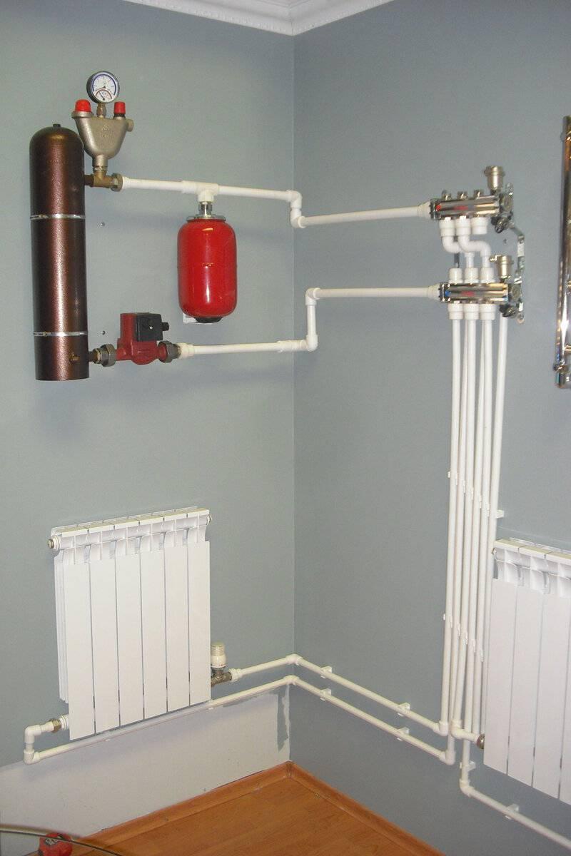 Газовое отопление частного дома, схема, проект, видео