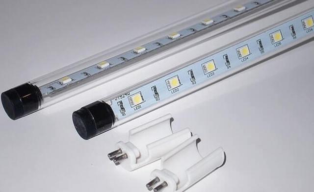 Световой поток светодиодных ламп (таблицы)
