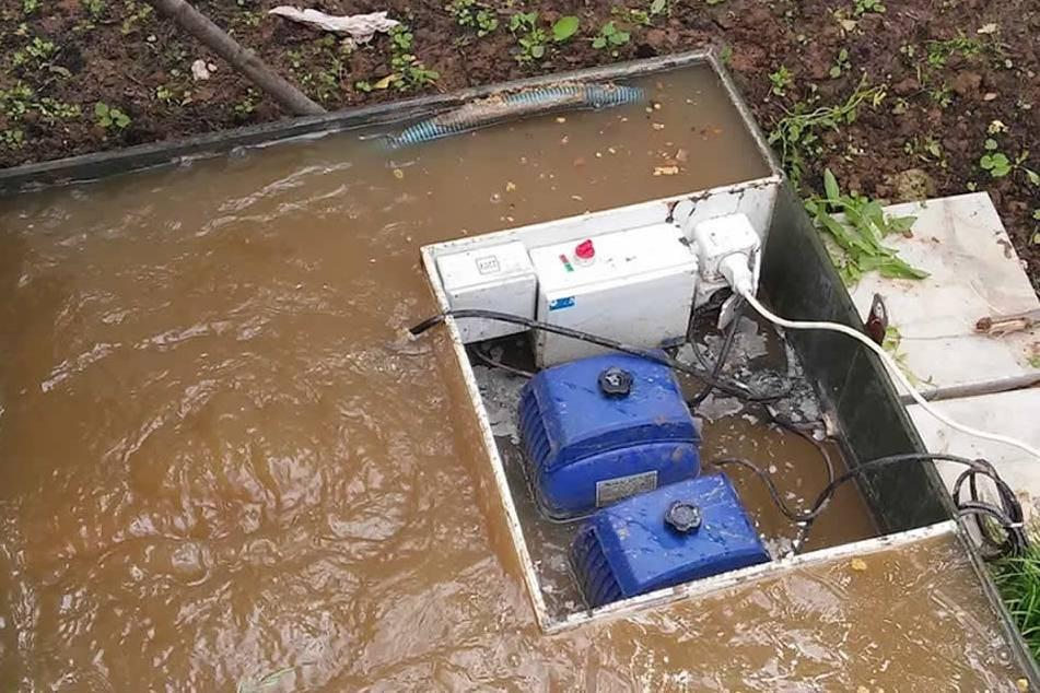 Обслуживание септика и ремонт: не уходит вода