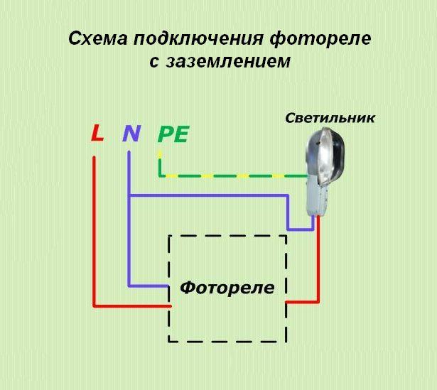 Фотореле для уличного освещения - подключение своими руками, установка и схема