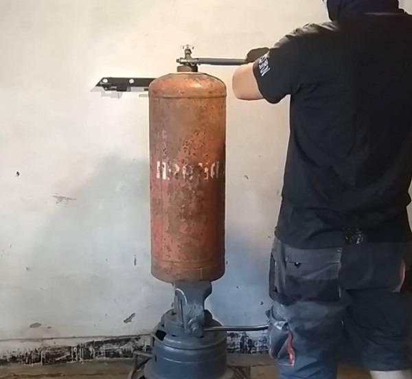 Мангал из газового баллона | как разрезать газовый баллон - самоделкин друг
