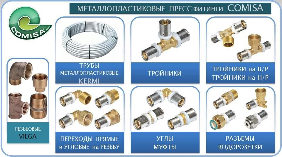 Плюсы применения пресс-фитингов для монтажа металлопластиковых труб
