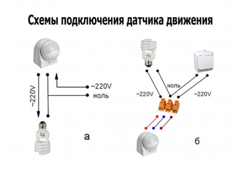Датчик движения для включения света: топ-7, советы по выбору, установка, отзывы
