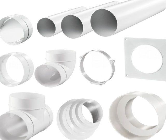 Воздуховод для вытяжки на кухне: как устанавливать кухонные отводы из пластиковой трубы своими руками