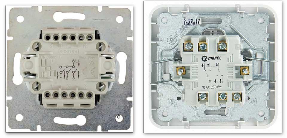 Схема подключения проходного выключателя: из двух, трех и более точек, фото, видео