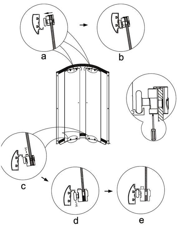 Ролики для душевых кабин: критерии выбора фурнитуры для дверей, инструкции по монтажу и замене