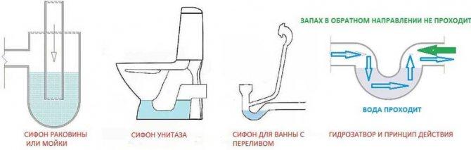 Почему в туалете пахнет канализацией - все о канализации